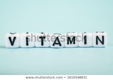 Detox - White Word on Blue Puzzles. Stock photo © tashatuvango
