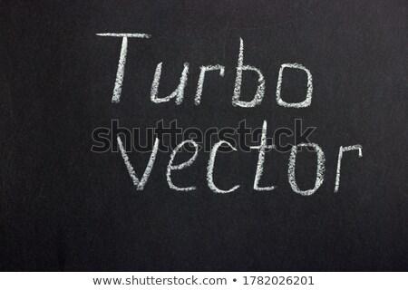 Handwritten High Performance on a Chalkboard. Stock photo © tashatuvango