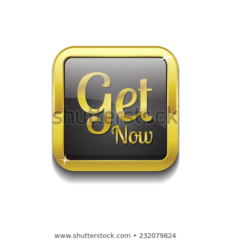 Get Now golden Vector Icon Design Stock photo © rizwanali3d