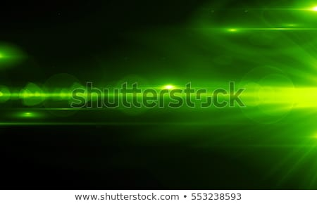 green background with light streaks Stock photo © magann