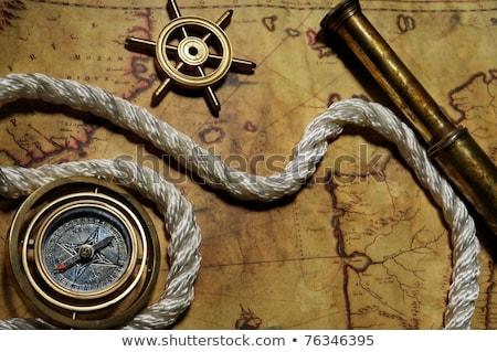 small anchor close-up Stock photo © OleksandrO