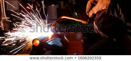 metall cutting with acetylene welding Stock photo © Mikko