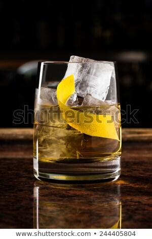 rusty nail cocktail stock photo © netkov1