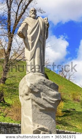 Rzeki symbol Ukraina książę budowniczy rzeźbiarz Zdjęcia stock © billperry