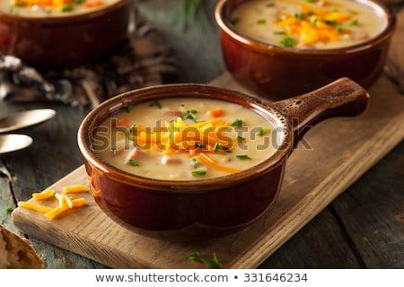 кремом · натюрморт · морковь · обед · суп - Сток-фото © Digifoodstock