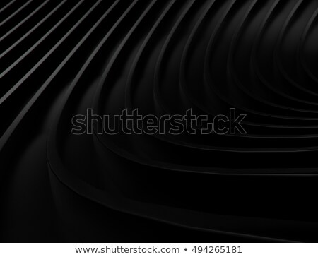 Abstract black background with metallic stripes Stock photo © saicle