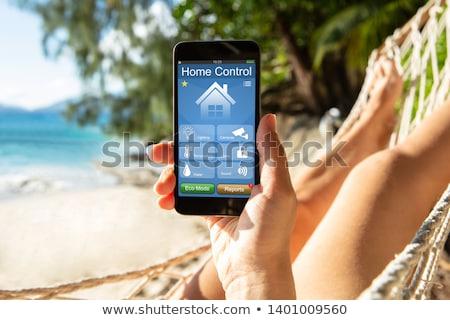 休暇 セキュリティ シンボル ココナッツ トロピカルドリンク 保護された ストックフォト © Lightsource
