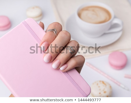 Beautifully manicured hands Stock photo © hsfelix