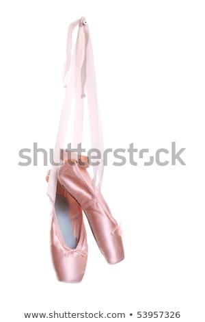Hanging pointe shoes Stock photo © bezikus