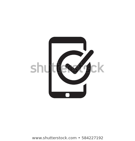 Mobile Register Icon. Online Learning. Flat Design. Stock photo © WaD