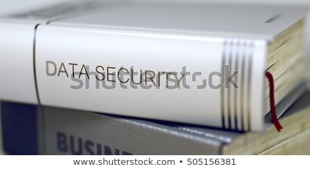 Internet Security - Business Book Title. 3D. Stock photo © tashatuvango