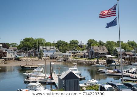 Yeni İngiltere güneşli öğleden sonra Amerika Birleşik Devletleri plaj Stok fotoğraf © chrisukphoto