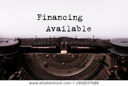 atual · vermelho · branco · negócio · dinheiro - foto stock © tashatuvango