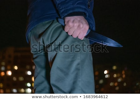 Thug Man with Knife Stock photo © fouroaks