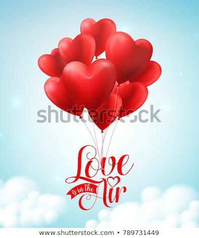 valentine · dia · ilustração · coração · vetor - foto stock © sarts