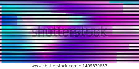 Vector glitch background Stock photo © beaubelle
