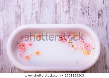 milk bath Stock photo © joannawnuk