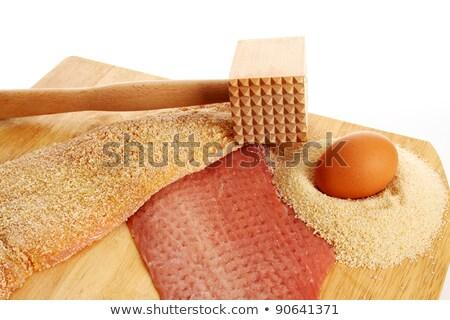 Brinde torrado pão jantar refeição Foto stock © Digifoodstock