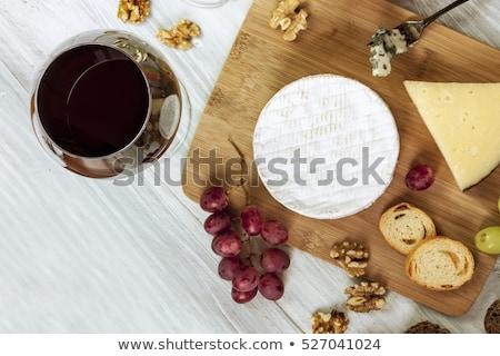 queijo · roda · branco · comida · cortar - foto stock © digifoodstock