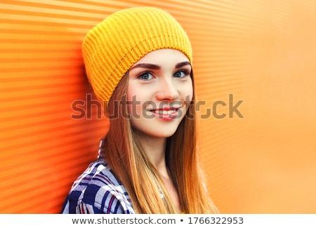 代 愛 美しい 孤立した 白 女性 ストックフォト © hsfelix