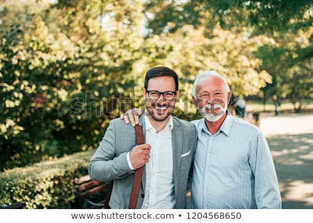 Portrait of Two Generations Stock photo © IS2