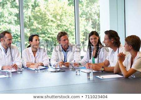 orvosi · akták · beteg · információ · orvosi · rendelő · technológia - stock fotó © is2