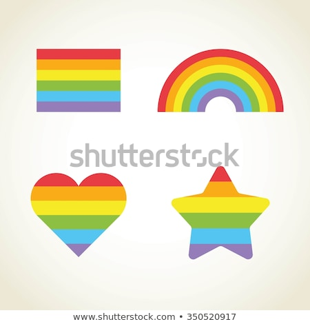 cartoon gay red star stock photo © dvarg