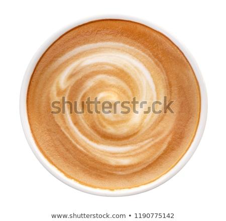 Hot koffie deken oude Stockfoto © Lana_M