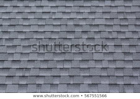 Stockfoto: Abstract Image Of Shingle Roof