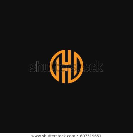 ロゴ ベクトル オレンジ ロゴタイプ デザイン ストックフォト © blaskorizov