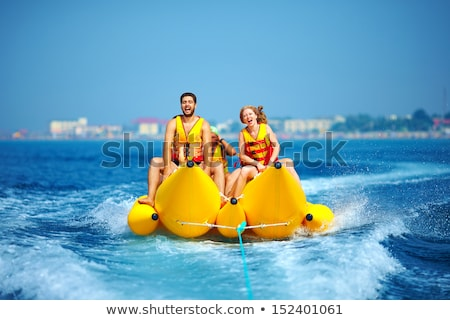 Fun boat ride Stock photo © jsnover