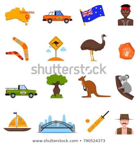 Australia set Stock photo © colematt