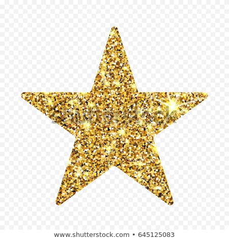 Glitter Star Isolated Transparent Background Stock photo © adamson