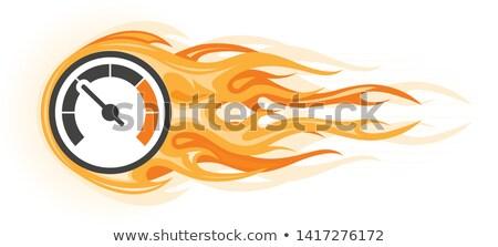 速度 燃えるような 計 運動 クイック 運動 ストックフォト © Winner