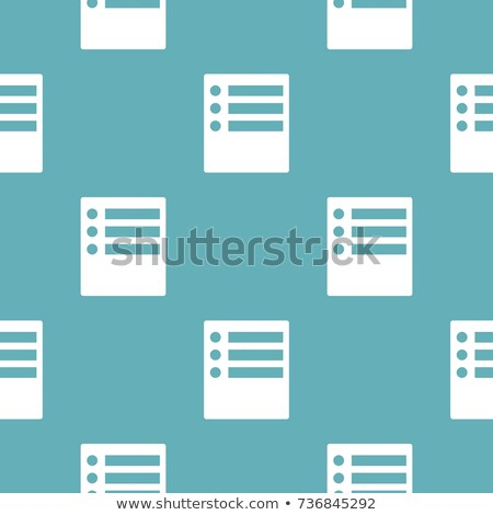 Collection of vector geometric seamless simple patterns - dotted and squared textures. Decorative bl Stock photo © ExpressVectors