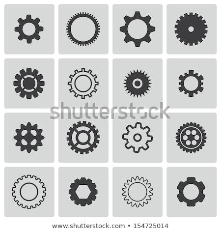 coleção · mecanismo · isolado · branco - foto stock © kyryloff
