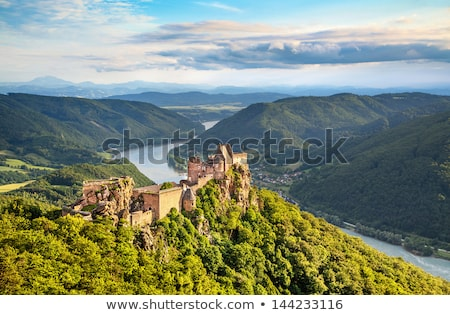 Donau rivier vallei Oostenrijk basiliek Stockfoto © borisb17
