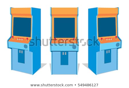 Set of Colorful Game Machines, Arcades Vector Stock photo © robuart