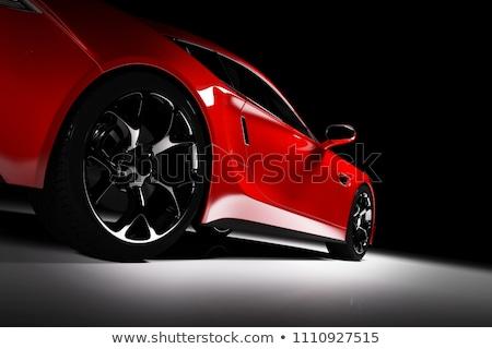 элегантность · красный · автомобилей · иллюстрация · белый · дизайна - Сток-фото © olegtoka