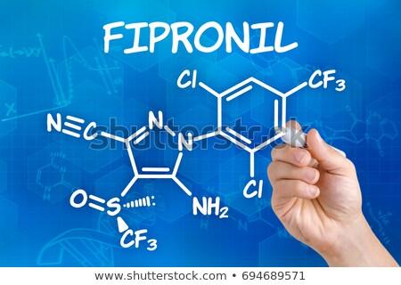 Químicos fórmula futurista resumen médicos educación Foto stock © Zerbor