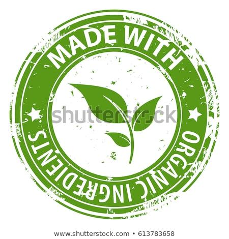 Naturales alimentos frescos ingredientes 100 por ciento Foto stock © robuart