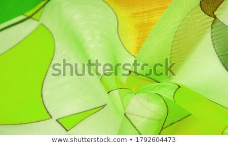 Green Drapery Stock photo © jamdesign