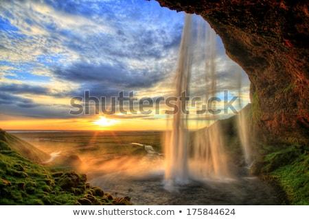 Vad hdr tájkép magas dinamikus kép Stock fotó © smithore