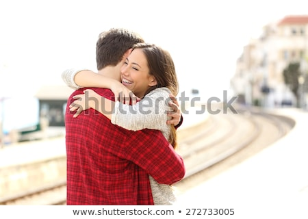 Portrait of a couple hugging Stock photo © photography33