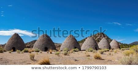Dois Novo México tradicional ao ar livre usado nativo Foto stock © searagen