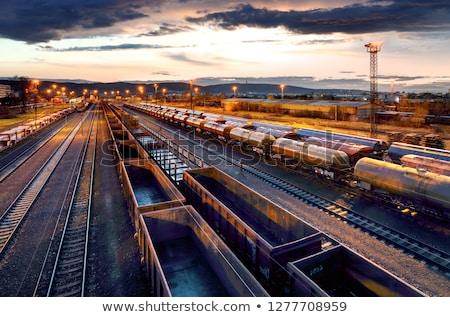 Railroad Terminal Stock photo © chrisbradshaw