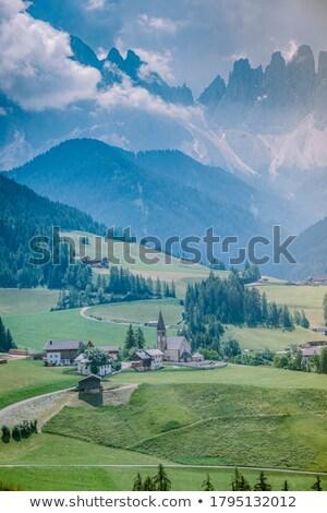 Italy trentino south Tirol area Stock photo © compuinfoto