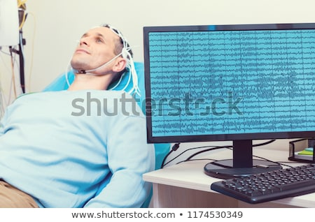 Waveform display of electrical signals Stock photo © experimental