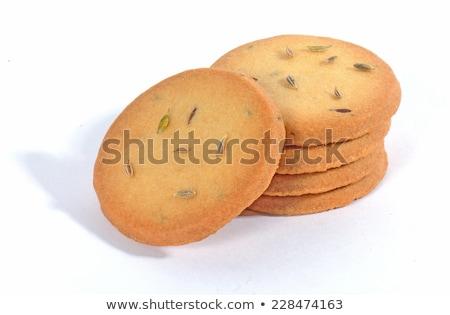 Cumin seed biscuits Stock photo © haiderazim