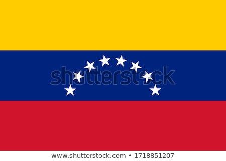 Cores Venezuela casaco brasão mapa bandeira Foto stock © perysty